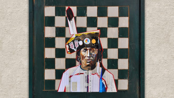 """Winnesick"" by Native American artist Henry Payer."