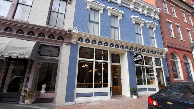 Réunion Bakery & Espresso located at 26 South New Street in downtown Staunton.
