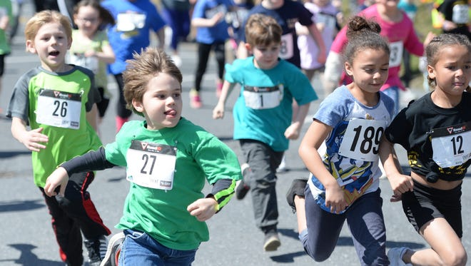 Staunton City School students ran in the Miles for Meals 5K last year. The race is back this year to benefit the school's nutrition program.
