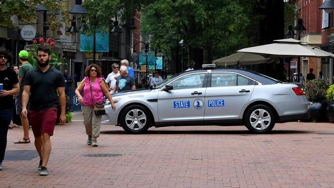 Virginia State Police patrol car
