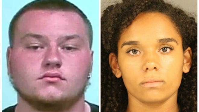 Samuel Parker Reed, left, is accused of capital murder, and Marie Redd is charged with first degree murder, and both had their bonds drastically reduce in Byram municipal court.