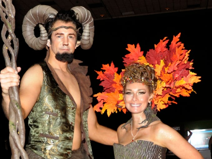 David and Emily Ruckman attend Fantasies in Chocolate
