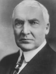 President Warren G. Harding served from 1921-'23.