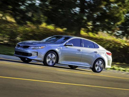 The 2017 Optima Plug-In Hybrid has a more powerful
