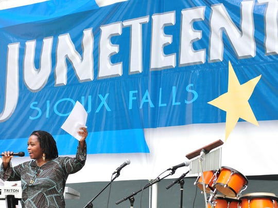 The annual Juneteenth celebration will be at Sertoma Park on Thursday.