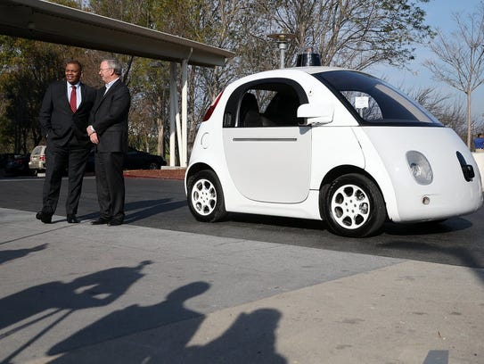 US Transportation secretary Anthony Foxx poses with
