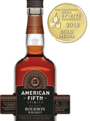 American Fifth Spirits & Distillery's bourbon won a gold medal at the World Spirits Competition in San Francisco.
