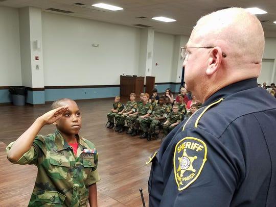 Josiah Young, a graduate of Bossier Parish Sheriff's