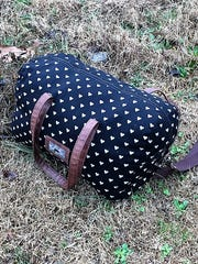 Murfreesboro police said Blair Alexander was last seen carrying several bags of clothing, like this one, before she was found dead over the weekend.