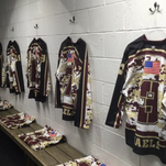 Iona Prep will be wearing commemorative sweaters in today's charity game against Fordham Prep.