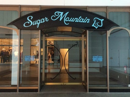Sugar Mountain at Eastview Mall was empty Thursday