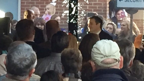 Ted Cruz in Montgomery