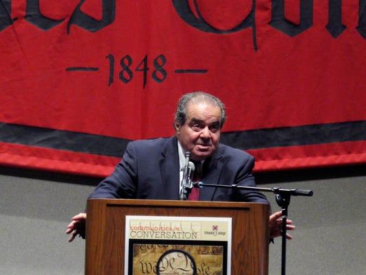 Antonin Scalia death