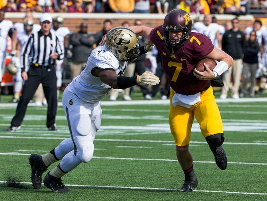 NCAA Football: Purdue at Minnesota