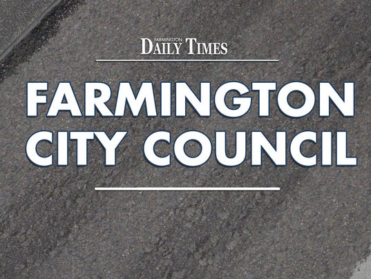 Presto graphic  agaFMN Stock Image Farmington City Council