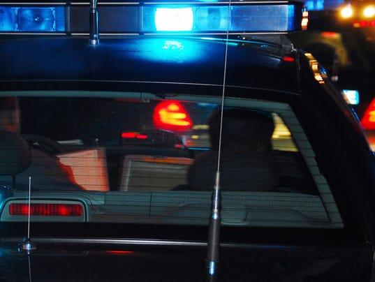 Presto graphic crime police lights