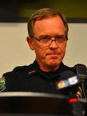South Burlington Police Chief Trevor Whipple on Friday,