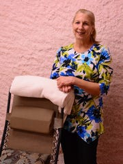 Cynthia Orsi, owner of Body N Balance Salt Cave Spa, is shown at the spa's Monmouth County location.