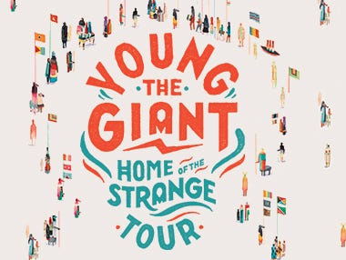 Win a pair of tickets to see Young the Giant with Cold War Kids & Joywave 9/7. Enter 8/15-8/27