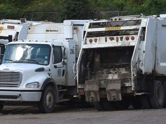 Shreveport garbage trucks.
