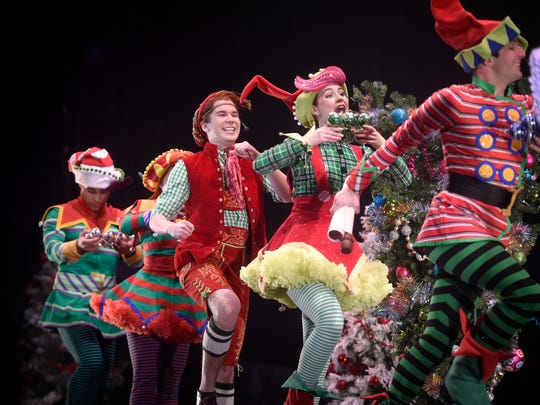 Hershey Park's Music Box Theatre is now featuring A Music Box Christmas: The Littlest Tree. The high energy production features elves finding the right family for every tree.