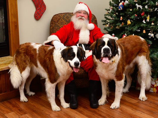The Humane Society of Ventura County will host its annual Santa Paws holiday photo shoot from 10 a.m. to 3 p.m. Dec. 3 at the shelter in Ojai.