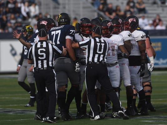 Nevada faces UNLV football