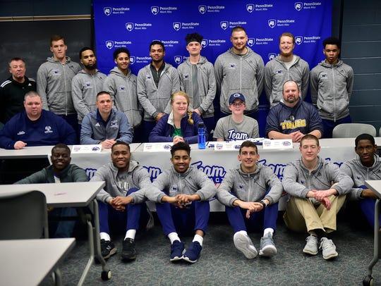 The Penn State Mont Alto men's basketball team, in