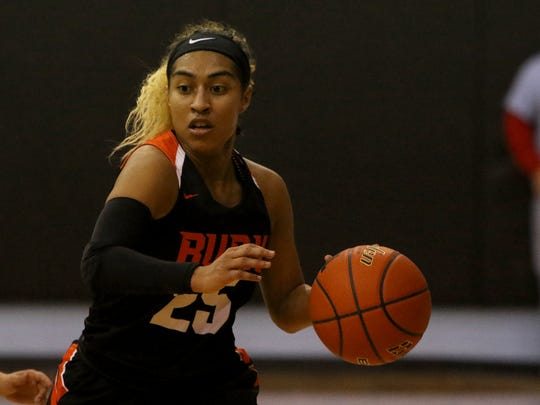 Burkburnett senior Eternity Jackson is hoping to lead the Lady Bulldogs to a sixth straight district title.