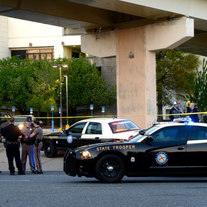 fatal motorcycle accident at Pensacola Bay Center from Interstate 110 ramp