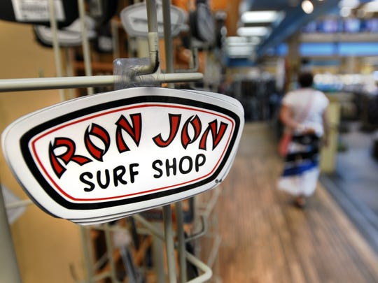 Ron Jon Surf Shop's iconic logo.