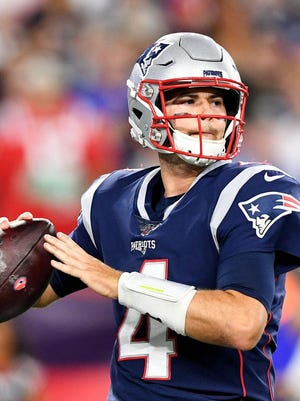 Jarrett Stidham will be judged not only by the Patriots' record but by the numbers he puts up this season, his first as a starting quarterback.