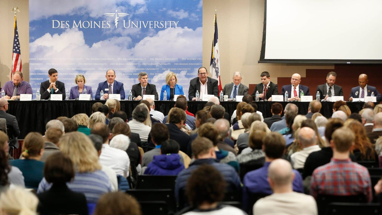 Watch as candidates for governor answer questions about the state of mental health in Iowa during the Register's mental health forum at Des Moines University.