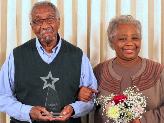 Grover and Franker Wright, of Elmira, were honored