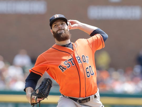Dallas Keuchel won the AL Cy Young Award in 2015.