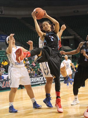 Louisiana Tech senior forward Whitney Frazier scored 18 points in Thursday's season-ending loss to Middle Tennessee.