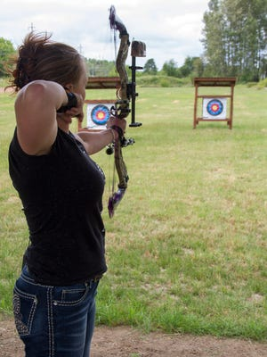 Learn archery on the third Saturday of every month through November at the archery range at E.E. Wilson Wildlife Area.