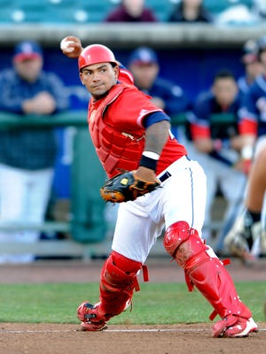 BlueClaws catcher Deivi Grullon tied the game with an RBI double.