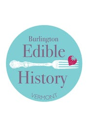 Logo for Burlington Edible History tours
