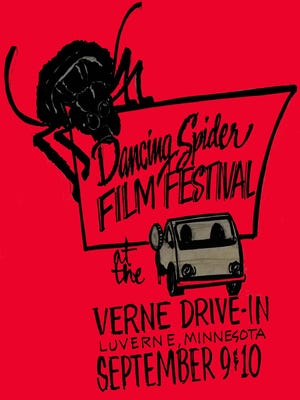 The films will start showing at dusk Friday and Saturday at the Verne Drive-In Theater in Luverne, Minn.