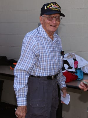 Frank Smothers is a veteran of World War II and the Korean War.