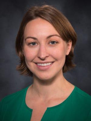 Dr. Ashley McClary with McDowell Pediatrics