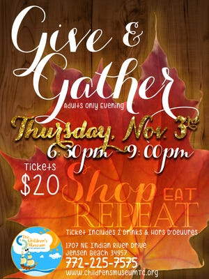 Give & Gather at the Children's museum of the Treasure Coast