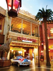Cuba Libre is a highlight of a visit to The Tropicana.