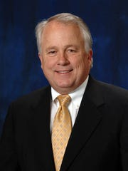 Dr. Brian J. May, president, Angelo State University