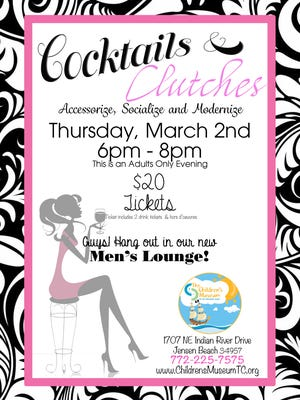 Cocktails & Clutches at The Children's Museum, an adults only evening