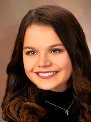 Zoe Rucinsky  School: Oshkosh North High School; Grade