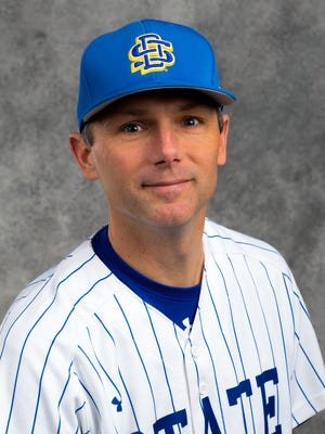 Rob Bishop is in his first year as South Dakota State baseball coach.