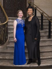 St. Mark's junior Rachel Staib was selected to meet astronaut and scientist Dr. Mae Jemison at the 2017 Common Wealth Awards.