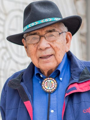 """Cherokee elder and """"Beloved Man"""" Jeremiah """"Jerry"""" Wolfe was awarded an honorary doctorate by Western Carolina University."""